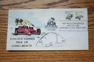 1990 Toyota Grand Prix Event Cover Herbert Nikirk Laser Cachet #15 / 30 Signed