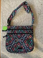 Vera Bradley triple zip Hipster Crossbody bag in Mickey Medallion