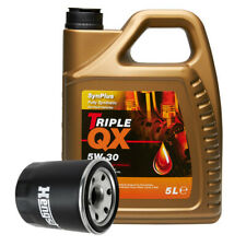 Hengst Oil Filter With Triple QX Fully Syntetic Ford 5W30 Engine Oil 5L