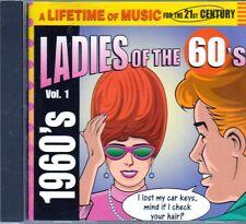 LifeTime Music LADIES 60s VOL 1 CD Classic Rock SHIRELLES ANGELS MURMAIDS