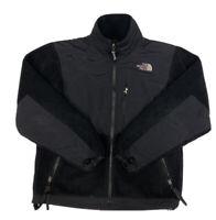 Vtg The North Face Women's Black Polartec Full Zip Denali Fleece Size XS