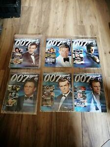 James Bond 007 Spy Cards  Magazines only [No Cards]