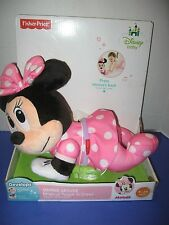 *NEW* Fisher-Price Disney Baby Minnie Musical Touch 'n Crawl