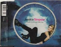 JESSICA SIMPSON I Think I'm In Love With You CD single