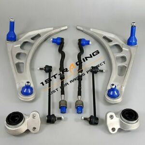 For BMW E46 323i 325i 328i Front Lower Control Arm Sway Bar Link Suspension Kit