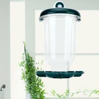 Automatic Window Wild Bird Feeder Seeds Feed Hanging Suction Feeding Cup Garden