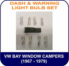 VW Bay Window DASH & WARNING LIGHT BULB SET KIT Bulbs only Oil Alt Indicator