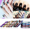 30 Rolls Mix Colors Striping Tape Line For Nail Art Decoration Sticker DIY Tips