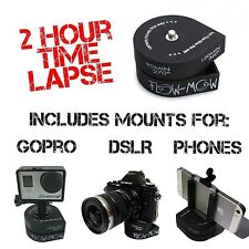 Flow-Mow 360 Timelapse 2 Hour Time Lapse compatible with GoPro®, DSLR, Phone