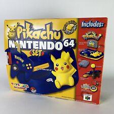 Nintendo 64 Pokemon Pikachu Toys R Us System Console Set NEW in Box CIB N64