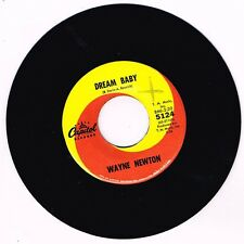 Capitol 5124 Wayne Newton Dream Baby I'm Looking Over A Four Leaf Clover 45 NM