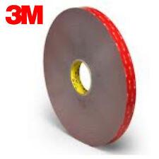 "3M VHB Gray Tape, 1/2"" x 36 yd, 91 Mil Thick, #4991 3M ID#70006358413"