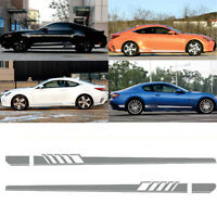 Car Auto Graphics Both Side Body Vinyl Sports Racing Race Car Long Stripe Decals