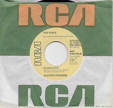 THE KINKS  Starmaker  rare promo 45 from 1975