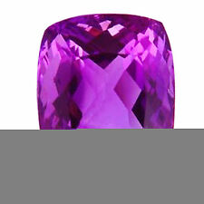 Cushion Natural Transparent Loose Amethysts