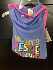 New listing Nwt Simply Dog Shirt Hoodie w Bow Rhinestone Mommy'S Bestie Forever Free Ship