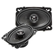 NEW SKAR AUDIO SK46 120 WATT MAX 4-INCH X 6-INCH 2-WAY CAR COAXIAL SPEAKERS PAIR