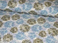 Jerseystoff Pusteblumen rauchblau Damenstoff Meterware Blüten Inspire me