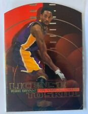 Kobe Bryant 2000 Fleer Flair Showcase License to skill Card #9LS