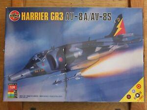 AIRFIX 18003 - RAF HARRIER GR3 AV-8A/AV-8S - VERY RARE 1/24 MODEL KIT