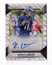 KENNY LAWLER NFL 2016 PANINI PRIZM ROOKIE AUTOGRAPHS PRIZMS BLUE WAVE (SEAHAWKS)