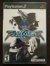 Soul Calibur II (Sony PlayStation 2, 2003) PS2 w Case & Manual Very Nice!