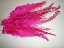 lot de 10 plumes rose 10 a 12 cm