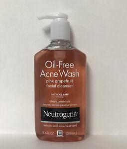 Neutrogena Pink Grapefruit Oil-Free Acne Wash Facial Cleanser-9.1oz.