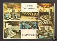 """CAPENDU (11) HOTEL-RESTAURANT """"LE TOP DU ROULIER"""" en 1965"""