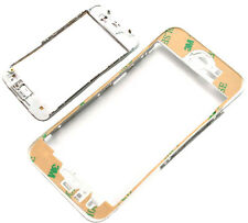 White iPhone 5 5G Touch Screen LCD Middle Frame Plastic Bracket with 3M Adhesive