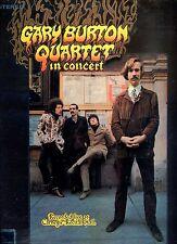 GARY BURTON QUARTET in concert LIVE AT CARNEGIE RECITAL HALL ex lp  GERMAN