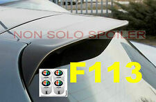 SPOILER ALETTONE ALFA 147 TIPO GTA GREZZO F113G + 4 TAPPI VALVOLA ANTIFURTO