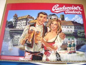 Budweiser Relief-Blechschild Sonderedition Nr. 7
