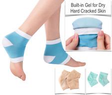 1 Pair Moisturising Spa Gel Heel Socks Cracked Foot Dry Hard Skin Care Protector