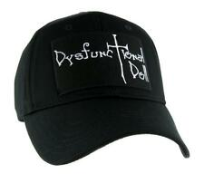 Dysfunctional Doll Logo Hat Baseball Cap Alternative Goth Punk Psychobilly Emo