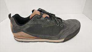 Merrell Burnt Rock Travel Sneakers, Granite Suede, Men's 15 M