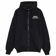 Official Call Of Duty Full Zip Hoodie Black Ops Cold War Mens Womens Jacket