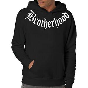 Brotherhood Kapuzenpullover | Bruderschaft | Gang | Bande | Motorrad | Kutte