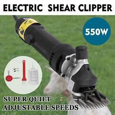 550W Electrique Cisaille Tondeuse à Cheveux Ciseaux Clipper Mouton Chèvre Animal