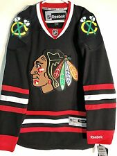 Reebok Premier NHL Jersey Chicago Blackhawks Team Black sz S