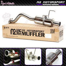 Honda Civic Type R Spoon N1 Style Rolled Tip Performance Back Box Exhaust EP3