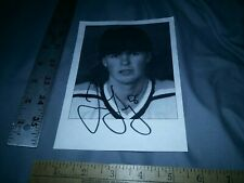 """JAROMIR JAGR Pittsburgh Penguins SIGNED AUTOGRAPHED 5""""x7"""" TEAM PHOTO PICTURE"""