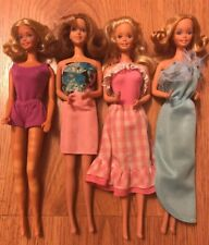 Mixed Lot Of Barbie's From 1980's's Era •Great Dolls•