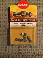 COX 1:24 SCALE COMPETITION SLOT CAR RACING CHASSIS 12T PINION GEARS SIDEWINDER