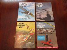 4 Model Airplane News 1965 Northrop P-61 Lockheed P-38 Little Dipper Beech Plans
