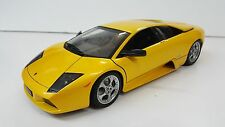 AUTOART 1/18 LAMBORGHINI MURCIELAGO PEARL YELLOW GOLD NO BOX EXCELLENT CONDITION