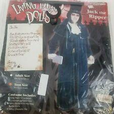 Living Dead Dolls JACK THE RIPPER TEEN Velvet Costume Victorian Gothic Medium