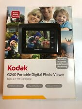"Kodak G240 Portable Digital Photo Viewer 2.4"" TFT LCD Display 2MB Memory SEALED!"