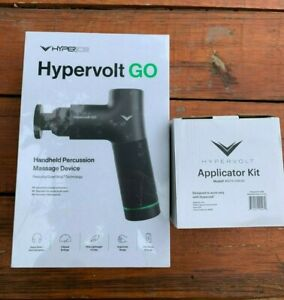 BRAND NEW Hyperice Hypervolt GO massage gun with extras