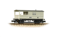 Graham Farish 377-376B N Gauge GWR 20T 'Toad' Brake Van BR Grey (Early)